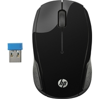HP 200 Wireless Mouse -Black