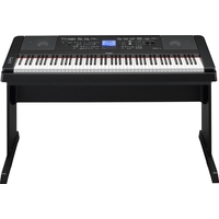 Yamaha DGX-660B Portable Digital Piano, Black