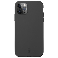 Cellularline Sensation Soft-touch silicone case for iPhone 12 and 12 Pro, Black