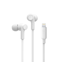 Belkin Lightning In-Ear Headphones,  White