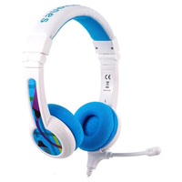 BuddyPhones School+ headphones, Blue