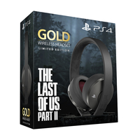 Sony Playstation Gold Wireless Headset The Last of Us II Limited Edition