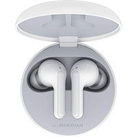 LG Tone Free FN6 True Wireless Bluetooth Earbuds,  White