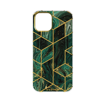 Hyphen Marble Case - Forest Green - iPhone 12 - 6.1""