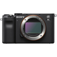Pre Order Sony Alpha a7C Mirrorless Digital Camera Body Only, Black
