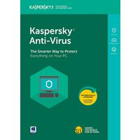 Kaspersky KAV4PCRT2020 AntiVirus 2020 3+ 1 User