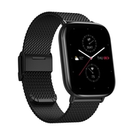 Amazfit Zepp E Square Smart Watch, Metallic Black