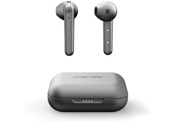 Urbanista Stockholm Plus True Wireless Earbuds, Titanium