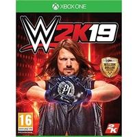 Xbox One RED-XB1 WWE 2K19 STL WWE 2K19 Steelbook Edition