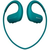 سوني, NW-WS413مشغل موسيقى , 4 جيجا بايت , مقاوم للماء, أزرق فيروزى