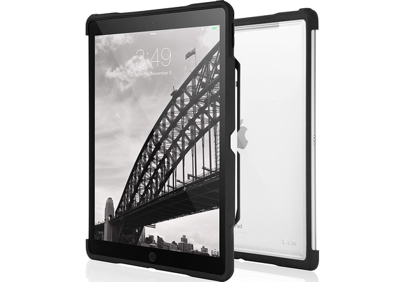 STM Dux Shell Ultra Protective Case for iPad Pro 12.9  , Black