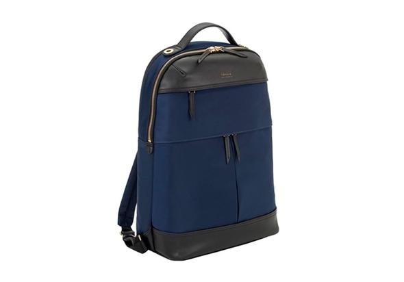 Targus Newport 15  Laptop Backpack, Navy