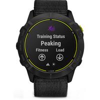 Garmin Enduro Smartwatch for Endurance Athletes Carbon Gray DLC Titanium with Black UltraFit Nylon Strap