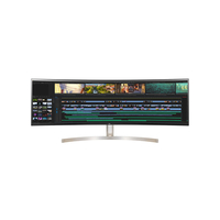 "LG 49WL95C-W 49"" 32: 9 UltraWide Dual QHD IPS Curved LED Monitor with HDR 10"