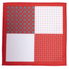 FOUR SQUARE RED AND WHITE