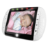 Motorola MBP36 Remote Wireless Video Baby Monitor - Tilt and Zoom (White) (Color Screen)
