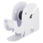 Infomate Single Hand Held Tape Dispenser (Manual) (Set of 1, White)