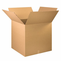 MAYUMI Double Wall Carton Craft Paper Packaging, Storing Packaging Box (Pack of 1 Brown)
