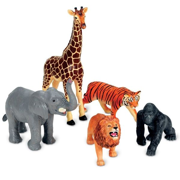 Learning Resources Jumbo Animals, jungle