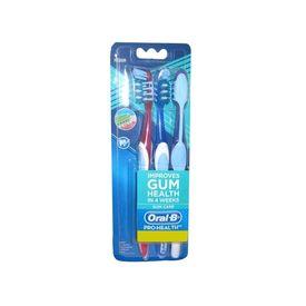 Oral-B Pro-Health Gum Care Toothbrush (Medium), 3 units