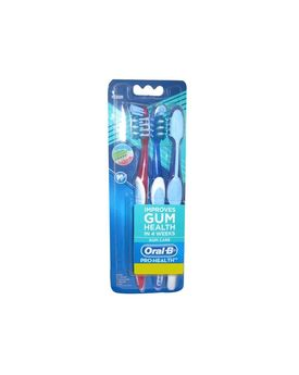 Oral-B Pro-Health Gum Care Toothbrush (Medium), 3 units