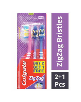 Colgate Zig Zag Medium Toothbrush
