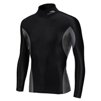 Fit Labs BodyBase Sports Compression T Shirt BLACK, m,  black