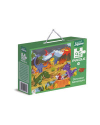 Junior Jigsaw Puzzle Dinosaur Adventure, na