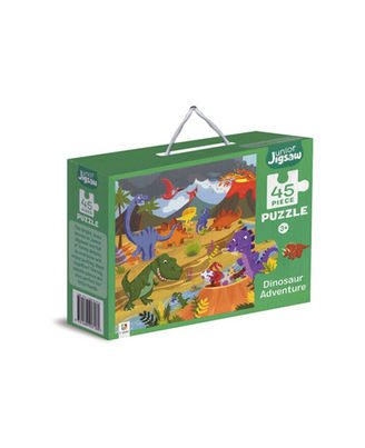 Junior Jigsaw Puzzle Dinosaur Adventure, na