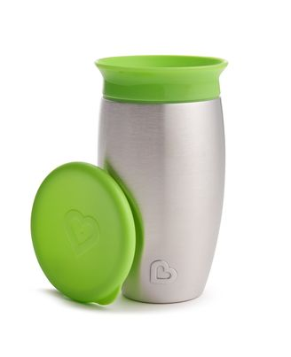 Munchkin 10Oz Miracle Steel Cup, Age 3 To 5 Years