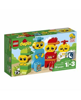 Lego Duplo My First Emotions Building Blocks, Age 18 Mths