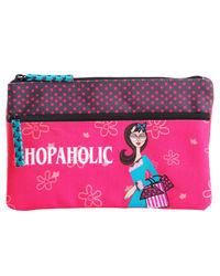 Shopaholic Two Zip Pouch