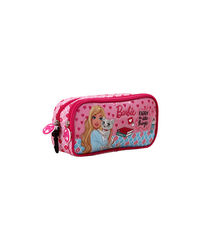 Barbie Pink Double Zip Pouch