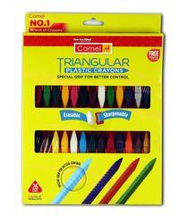 Triangular Pl. Crayons 26 S Carton Pack