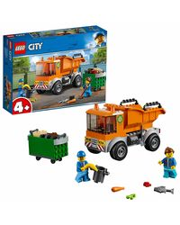 Lego City Garbage Truck Building Blocks, Age 4+