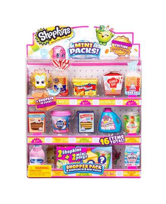 Shopkins Shopper Pack Season 10, Age 4+