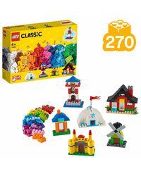 Lego Classic Bricks & Houses Building Blocks, Age 4+