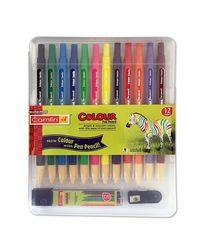 Camlin Color Pen Pencils, Multicolour, Pack of 12