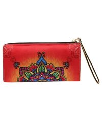 Wallets And Clutches: W01-31R, multicolour