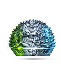 Terracotta Goddess Maa Durga Devi Idol