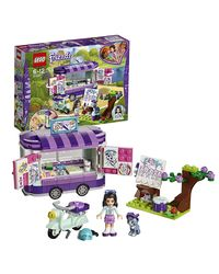 Lego Friends Emma'S Art Stand Building Blocks, Age 6+