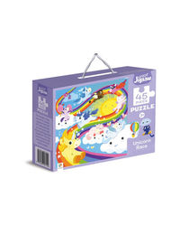 Junior Jigsaw Puzzle Unicorn Race, na