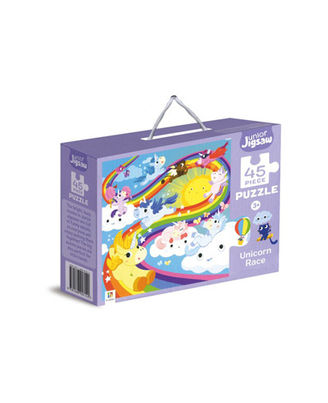 Junior Jigsaw Puzzle Unicorn Race, na