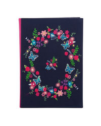 Butterfly Bloom Note Book 8X6 Inch - A5