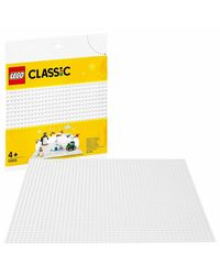 Lego Classic White Base Plate Building Blocks, Age 4+