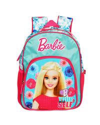 Barbie Pink & Blue School Bag 30 cm