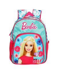 Barbie Pink & Blue School Bag 30 cm