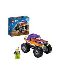 Lego City Monster Truck Building Blocks, Age 4+