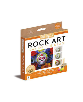 Craftmaker Rock Art Day Of The Dead_ PART 1, multi
