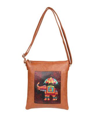 Sling Bag: S19-139, cherrywood red, cherrywood red